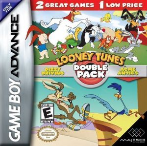 2 In 1 - Looney Tunes - Dizzy Driving Looney Tunes - Acme Antics ROM