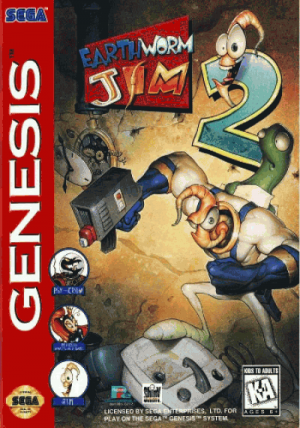 Earthworm Jim 2 ROM