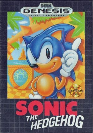 Sonic The Hedgehog (JUE)
