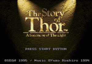 Story Of Thor, The - A Successor Of The Light (8) (Eng) ROM